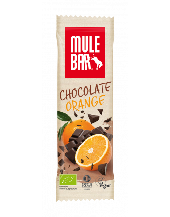 MuleBar Chocolate Orange 40g