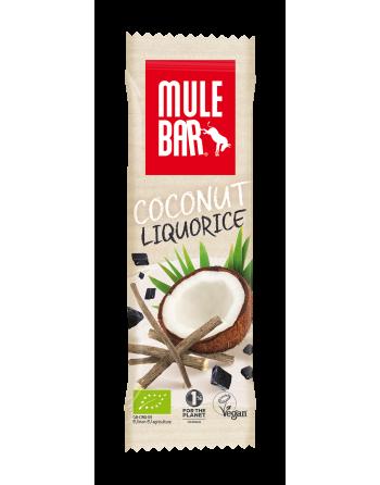 MuleBar Coconut Liquorice 40g