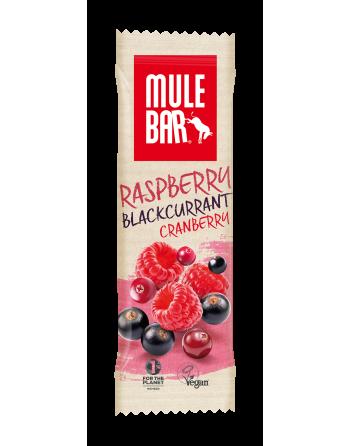 MuleBar Framboise Cassis 40g