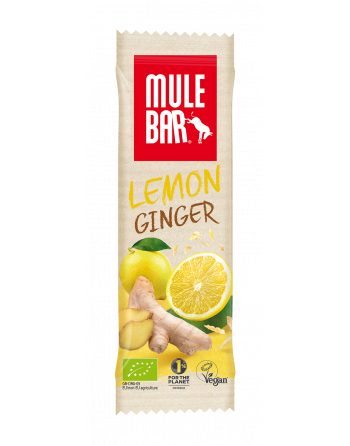 MuleBar Lemon Ginger 40g