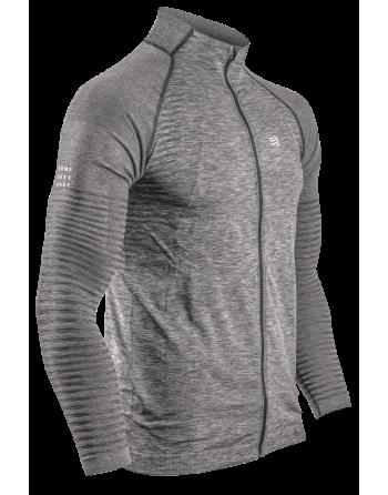 Nahtloses Zip-Sweatshirt...
