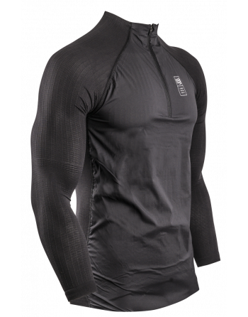 Hybrid Pullover schwarz