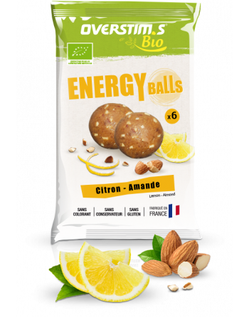 ENERGY BALLS ORGANIC Zitrone