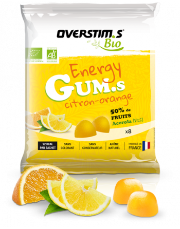 ENERGY GUMS BIO Citron-Orange