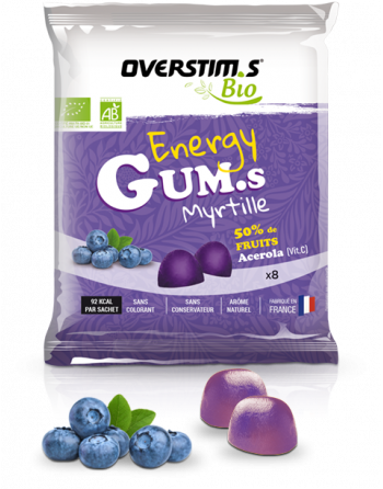 ENERGY GUMS BIO Myrtille