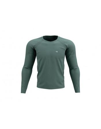 Training Tshirt LS Silver Pine