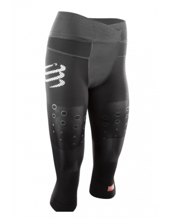 Trail running 3/4 de compression femme