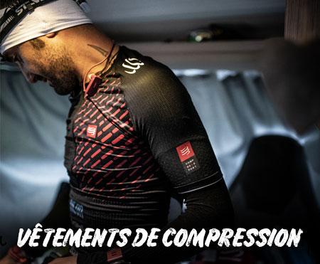 Découvrez les vêtements de compression